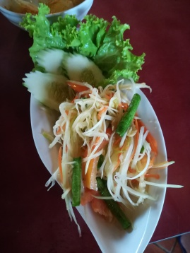 papaya salad without the peanuts