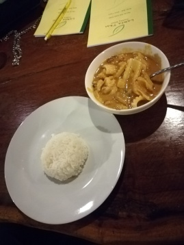 massaman curry without the peanuts